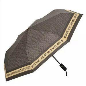 Michael Kors Brown MK Novelty Umbrella